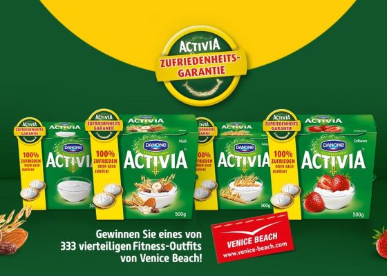 Activia-Joghurt Feature